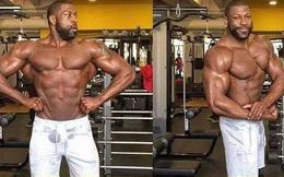 Chàng trai có thân hình cơ bắp nhưng khi nhìn xuống dưới, không ai có thể tin vào mắt mình