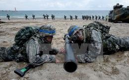 """30.000 binh sỹ Hàn-Mỹ kết thúc tập trận """"Đại bàng non"""""""