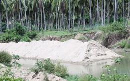 """Vụ """"đục khoét sông cạn"""" ở Khánh Hòa: Phó Thủ tướng chỉ đạo kiểm tra, làm rõ"""