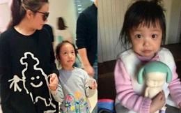 """Con gái Triệu Vy bị chê """"quê mùa"""" vì không mặc... quần áo hàng hiệu"""