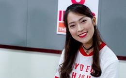 Khánh Vy khiến cư dân mạng ngưỡng mộ khi xuất hiện trong vai trò host chương trình 8 IELTS trên sóng VTV7