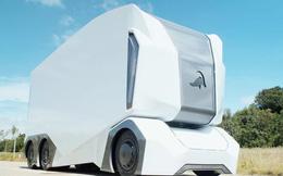 Xe tải đầu kéo được trang bị công nghệ tự động lái, không có chỗ cho con người, theo đúng nghĩa đen