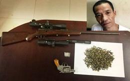 """Bắt em trai Hải """"Bánh"""" trốn truy nã mang theo 2 khẩu súng, hàng trăm viên đạn"""