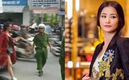 Đông Nhi bị cảnh sát giao thông nhắc nhở vì đậu xe hơi sai quy định