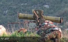 """Lọt ổ phục kích, tên lửa chống tăng """"thổi bay"""" xe phiến quân Syria"""