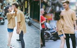 """Từ bộ ảnh nàng 1m48 yêu chàng 1m80 gây sốt: Có một chuyện tình """"cọc đi tìm trâu"""" rất đáng yêu"""