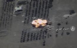 Nga giáng đòn hủy diệt tổ hợp pháo phản lực IS ở Hama, Syria