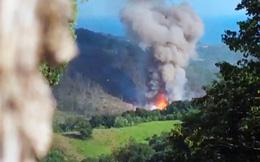 Kho đạn dược nổ long trời ở Abkhazia, 35 người Nga bị thương