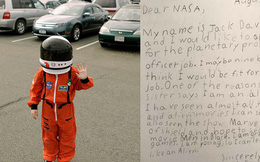 Bé trai 9 tuổi nộp đơn xin việc cho NASA, bất ngờ khi nhận được thư phản hồi từ chính giám đốc