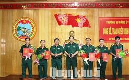 Nhân sự mới Quân Khu 5, Hưng Yên, Thái Nguyên
