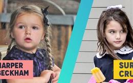 Suri Cruise và Harper Beckham: Hai cô bé nổi tiếng nhất thế giới có tuổi thơ trái ngược