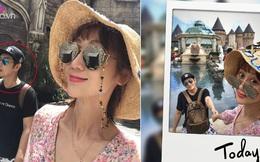 """Bà xã Trần Hạo Dân bất ngờ chia sẻ ảnh """"dìm hàng"""" chồng tại Đà Nẵng, Việt Nam"""