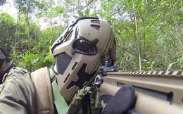 """Đây là """"Mặt nạ siêu nhân"""" cho quân đội do Nhật chế tạo: Chống được đạn, có kính hồng ngoại, hiển thị vị trí đồng đội"""