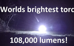 Đây là chiếc đèn LED sáng nhất trên thế giới, đến mức có thể khiến bạn bị mù tạm thời