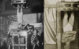 Vén bức màn ảo thuật - gông chân, còng tay, treo ngược đầu trong hộp nước mà vẫn thoát ra tài tình
