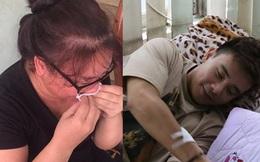 Mẹ Đông Hùng bật khóc trước việc con trai bị chủ nợ hành hung