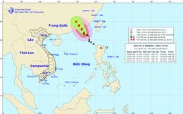Bão số 8 gây ra gió giật cấp 12 trên biển Đông