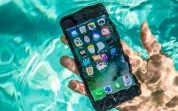 Bên cạnh sức mạnh về hiệu năng, iPhone X cuối cùng cũng có chuẩn kháng nước IP68