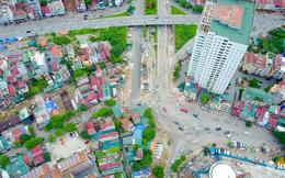 """Những nút """"thắt cổ chai"""" của giao thông Hà Nội nhìn từ trên cao"""