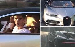Ronaldo chở con trai trên siêu xe mới sắm có giá 67 tỷ đồng