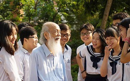 Thầy Văn Như Cương đã qua đời, nhưng những kỷ niệm đẹp sẽ ở lại mãi với mỗi cựu học sinh trường Lương Thế Vinh