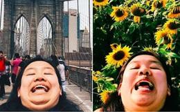 Cằm 2 ngấn đi khắp thế gian: Bộ ảnh du lịch có 1-0-2 của cô nàng mặt tròn vô cùng đáng yêu