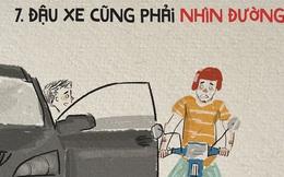 Lái xe thì ai cũng biết, nhưng lái xe văn minh thì không phải ai cũng làm được!