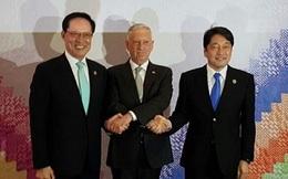 Bộ trưởng Mỹ - Nhật - Hàn nhất trí gây sức ép tối đa với Triều Tiên