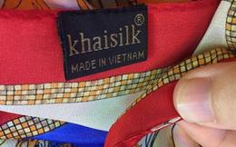"""Bán khăn lụa """"Made in China"""" nhưng quảng bá """"Made in Vietnam"""", KhaiSilk vi phạm những quy định gì?"""