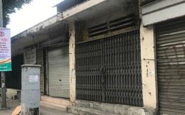 Phố đồ bảo hộ lao động cạnh ga Hà Nội đồng loạt đóng cửa