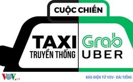 """Hiệp hội taxi Hà Nội """"luận tội"""" Bộ GTVT về thí điểm Uber, Grab"""