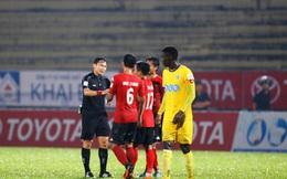 Trưởng ban TT Nguyễn Văn Mùi: 'Trọng tài có quyền thay đổi quyết định, hủy bàn thắng của Long An'