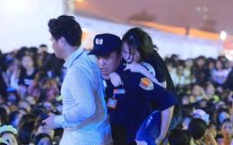 Biển người chờ đón Lee Kwang Soo - Haha tại Mỹ Đình, nhiều fan ngất vì không chịu được sức ép khủng khiếp