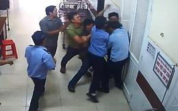 Bảo vệ bệnh viện bị người nhà bệnh nhân hành hung
