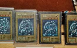 Nhật Bản: Ông bố nuốt nước mắt bán 4 lá bài Rồng Trắng Mắt Xanh siêu hiếm để có tiền cho con ăn học