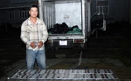 Dùng xe chở hàng đông lạnh vận chuyển thuốc lá lậu