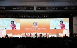 APEC CEO Summit: Hai tổng thống phát biểu với các lãnh đạo doanh nghiệp