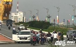 Tai nạn trên Cầu Rồng trước giờ đoàn xe Tổng thống Nga Putin đi qua