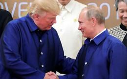 Ông Trump và ông Putin bắt tay tại tiệc tối APEC