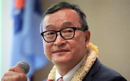Cựu thủ lĩnh đối lập Campuchia Sam Rainsy tuyên bố tái xuất