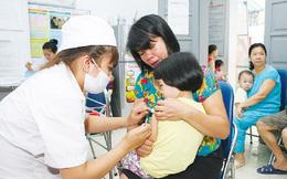 32.000 trẻ có nguy cơ mắc sởi ở Hà Nội