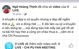 Tuyển thủ Việt Nam chê Chi Pu hát 'như gà gáy', đừng làm ca sĩ