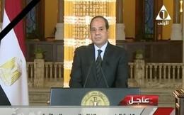 Các tay súng vẫy cờ IS khi xả súng và đánh bom nhà nguyện Ai Cập