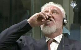 Phiên tòa Liên hợp quốc dừng giữa chừng do nghi bị cáo uống thuốc độc