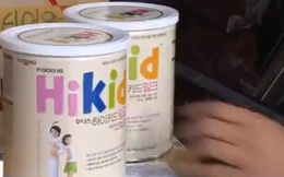 Hơn 600 lon sữa bột Hikid không rõ nguồn gốc bị phát hiện cất giữ trong... xưởng cơ khí ở Hà Nội