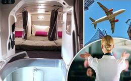 Có buồng ngủ bí mật trên máy bay Boeing 777