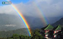 Kỷ lục: Cầu vồng xuất hiện lâu nhất thế giới, kéo dài tới 9 giờ liên tục ở Đài Loan