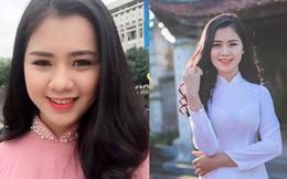 """Cận cảnh vẻ đẹp Hoa khôi Đại học Vinh sắp lên xe hoa cùng """"soái ca"""" Quế Ngọc Hải"""