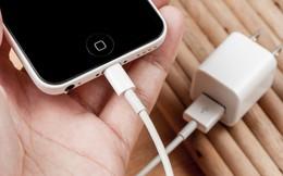 Đừng dùng sạc iPhone nhái nếu bạn không muốn bị điện giật hoặc cháy nổ điện thoại