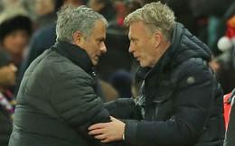 """Có 3 """"lễ vật"""" từ David Moyes, Mourinho lo gì không thắng được Pep Guardiola"""